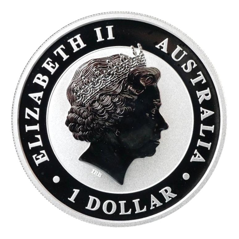 2014 Australian Koala Design 1/2 Oz. 999% Silver Round